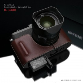 Gariz leather half case for Leica Q Typ 116 camera 5