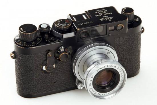 Leica IIIg black 'Swedish Military'