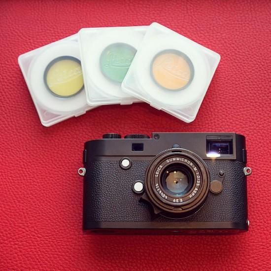 Leica M Monochrom filters