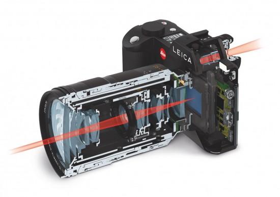 Leica SL Typ 601 camera inside