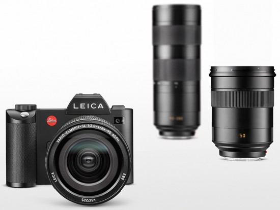 Leica-SL-Typ-601-mirrorless-full-frame-camera-lenses