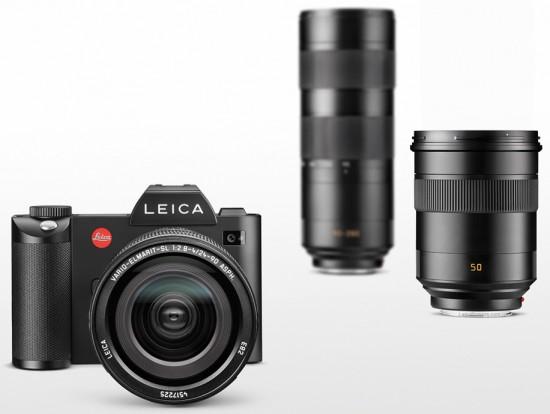 Leica SL Typ 601 mirrorless full frame camera announced | Leica Rumors