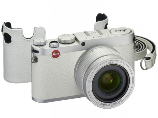 Leica X white limited edition camera set 2