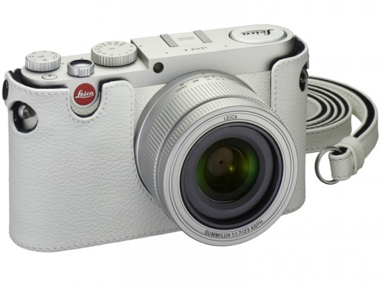 Leica X white limited edition camera set