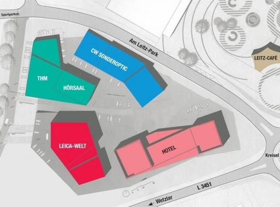 Leitz Park III project map