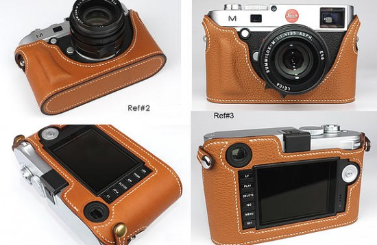 MGR Production released a new Ultra Fit leather case for Leica 2