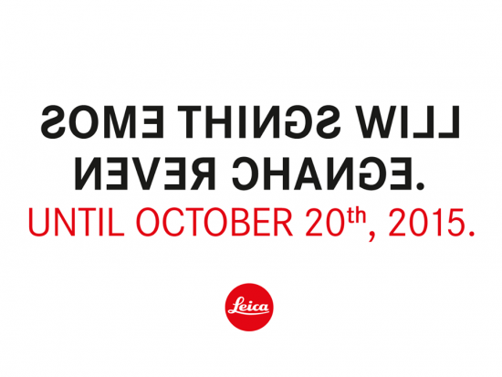 New Leica Camera teaser for October 20th