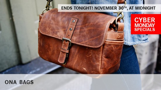 Cyber Monday specials on ONA Bags