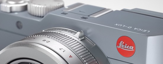 Leica-D-Lux-Solid-Gray-camera-with-two-tone-silver-and-grey-styling