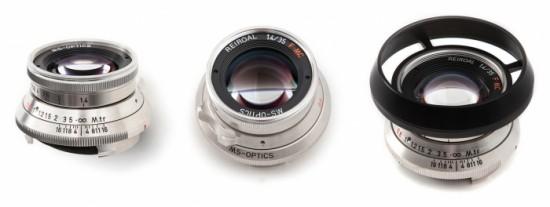MS-Optics Reiroal M 35mm f:1.4 MC Platinum Chrome lens