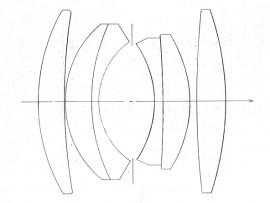 MS-Optics Reiroal M 35mm f:1.4 MC Platinum Chrome lens design 2