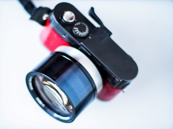 ExperimentalOptics 42mm f:0.75 lens for Leica M 2
