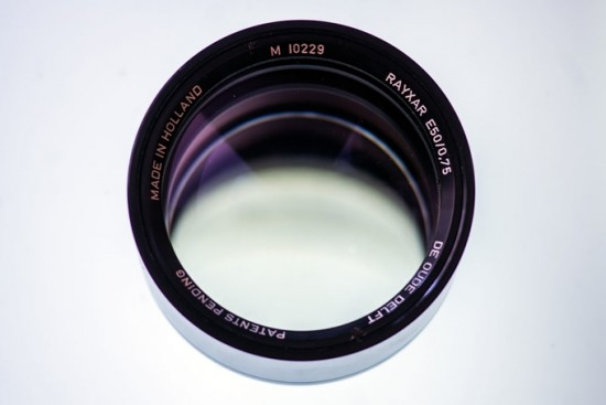 ExperimentalOptics 50mm f:0.75 lens for Leica M 3