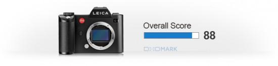 Leica SL Typ 601 camera DxOMark test review