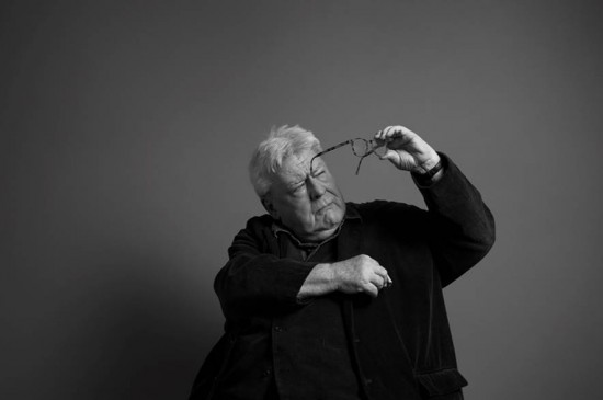 Sir Alan Parker photographed by Greg Williams in his Mayfair Studio. In conjunction with BAFTA and Leica Camera Ltd.