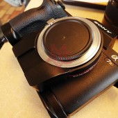 Techart Leica M lens to Sony E-mount autofocus adapter 2