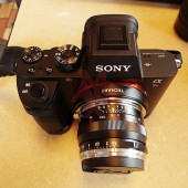 Techart Leica M lens to Sony E-mount autofocus adapter 3