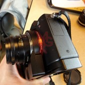 Techart Leica M lens to Sony E-mount autofocus adapter 5