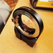 Techart Leica M lens to Sony E-mount autofocus adapter 6