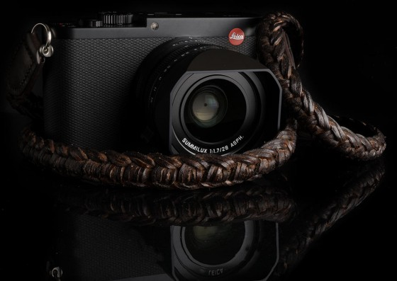 Angelo Pelle handmade braided neck straps for Leica M1