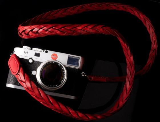 Angelo Pelle handmade braided neck straps for Leica M2