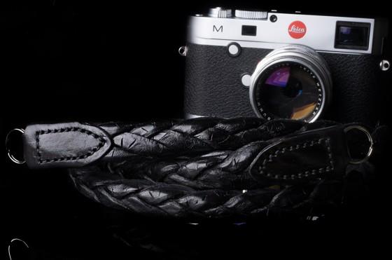 Angelo Pelle handmade braided neck straps for Leica M3