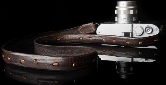 Angelo Pelle handmade braided neck straps for Leica M4