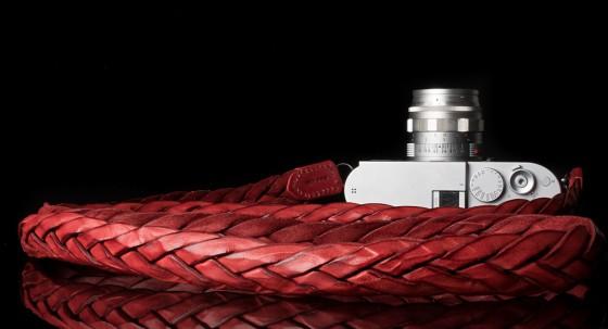 Angelo Pelle handmade braided neck straps for Leica M5