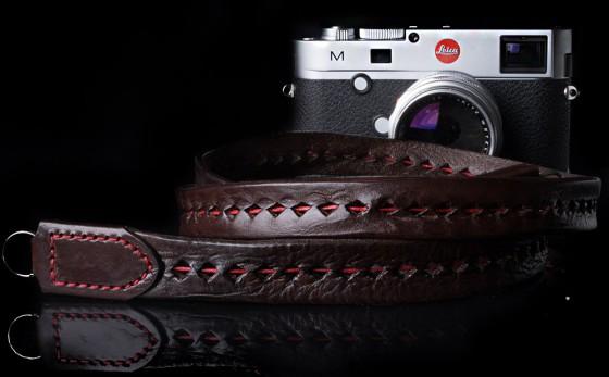 Angelo Pelle handmade braided neck straps for Leica M6