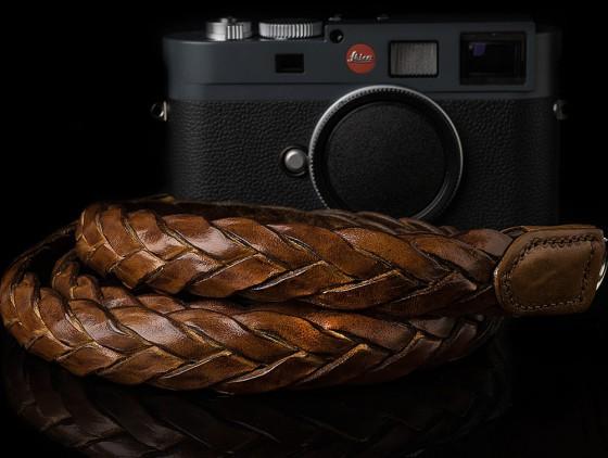 Angelo Pelle handmade braided neck straps for Leica M7