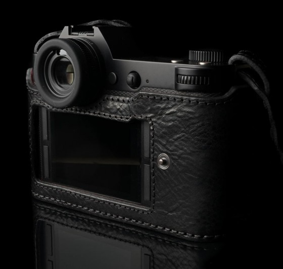 Angelo Pelle leather half case for Leica SL Typ 601 camera2