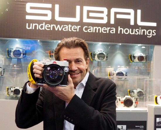 Leica M underwater housing from Subal