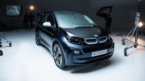 The Mr Porter X BMW I3 limited edition car comes with a limited edition Leica camera