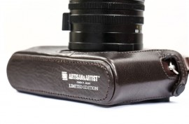 ARTISAN ARTIST limited edition Leica Q Leather Case 2