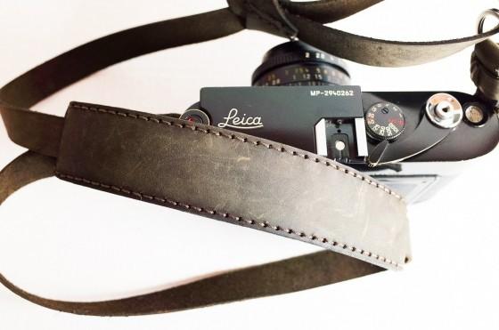 Eric Kim Henri handmade genuine leather camera strap