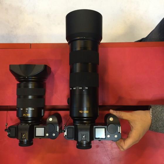 Leica-APO-Vario-Elmarit-SL-90-280mm-f_2.8-4-Lens-size-comparison