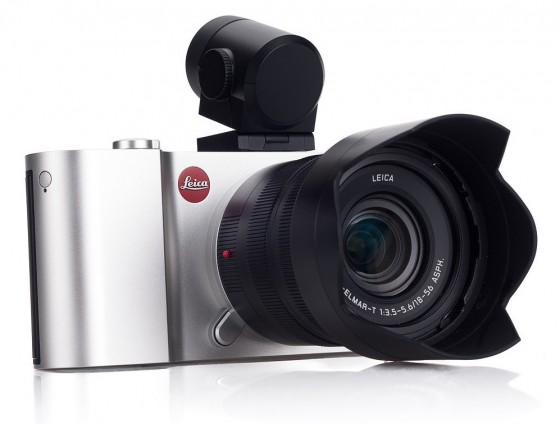 Leica T cameras lens and Visoflex bundle silver