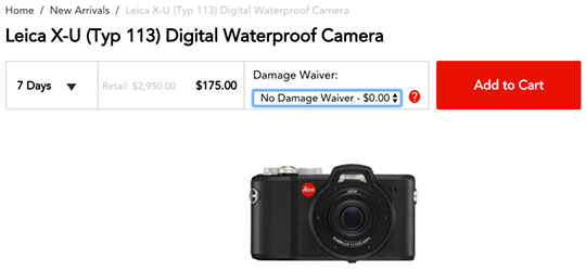rent-the-Leica-X-U-Typ-113-waterproof-and-shockproof-camera