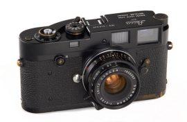 Leica M2 black paint Button Rewind