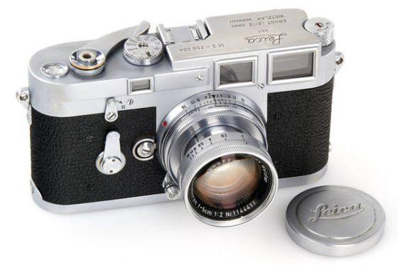 Leica M3 chrome No.700004 camera
