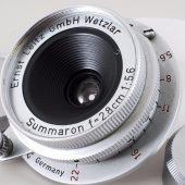 Leica Summaron 28mm F5.6 Lens L39 mount (source: eBay)
