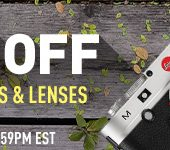 savings on Leica gear will end on May 10th