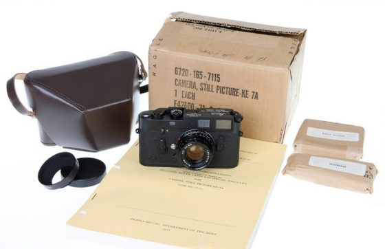 Leica KE-7A camera set