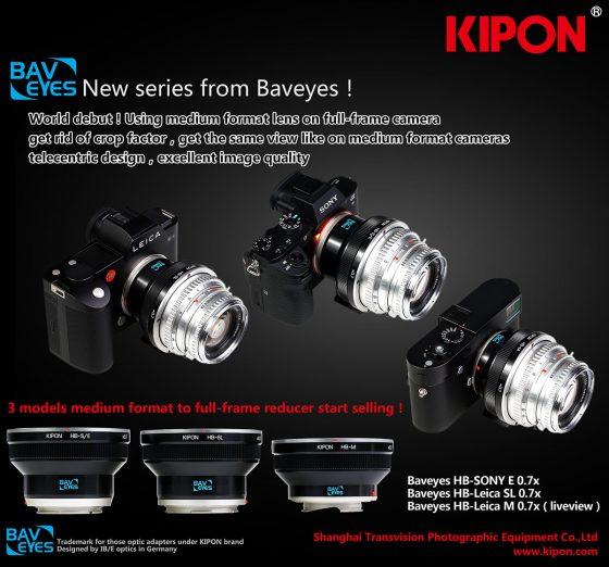 Kipon-medium-format-lens-adapters-for-Leica-SL-and-M-cameras