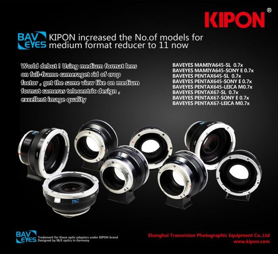 Kipon lens adapters for Leica SL and M cameras 2