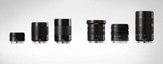 Leica TL lenses