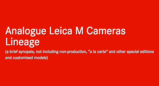 timeline-of-leica-m-analogue-film-cameras
