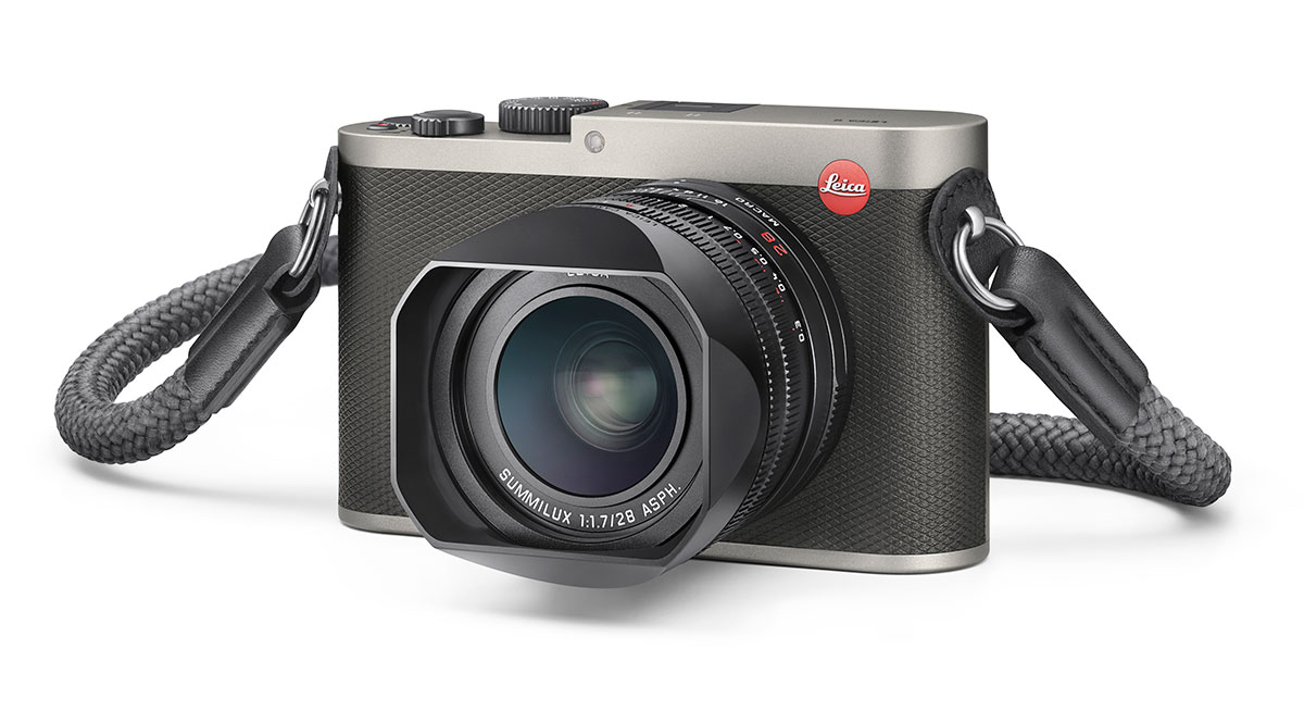 Leica introduces the Leica Q Titanium gray camera - Leica Rumors