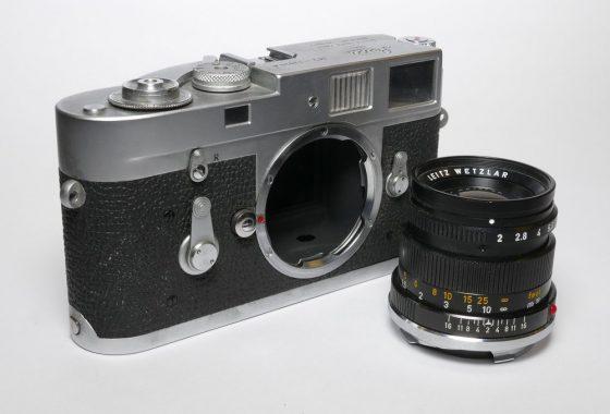 Leica M2 Attrape dummy camera and 50mm Summicron