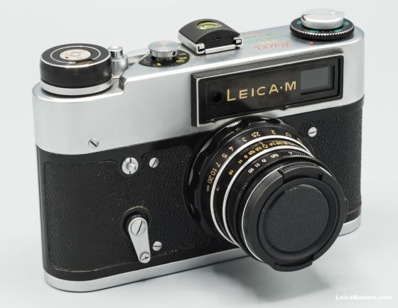 Fake Russian Leica M camera